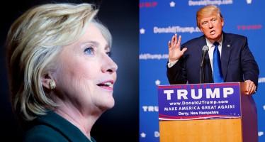 Hillary Clinton à Miami aujourd'hui, et Donald Trump demain