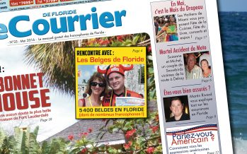 Le Courrier de Floride de Mai 2016 est sorti !