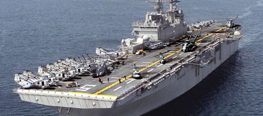 Assistez aux remises de Légions d'Honneur sur un porte-avions de guerre à Fort Lauderdale