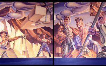 Une œuvre retrouvée de l'historien graphique Andrew Reid, exposée à Walt Grace Vintage (Miami)