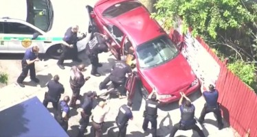 L'arrestation la plus musclée de l'année à Miami (vidéo)
