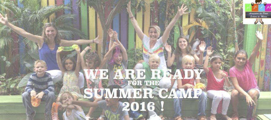 Inscrivez vos enfants aux camps d'été de Petits Ecoliers Miami !