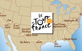 Le Tour de France 2016 se déroulera intégralement aux USA !