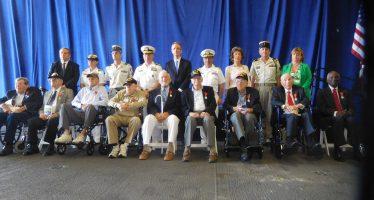 Miami : La France a honoré les vétérans de la Seconde Guerre Mondiale