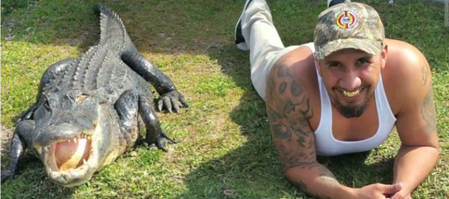 Joli reportage sur un homme de Miami et son ami alligator