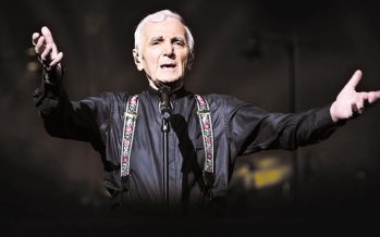 Charles Aznavour vient chanter à Boston !