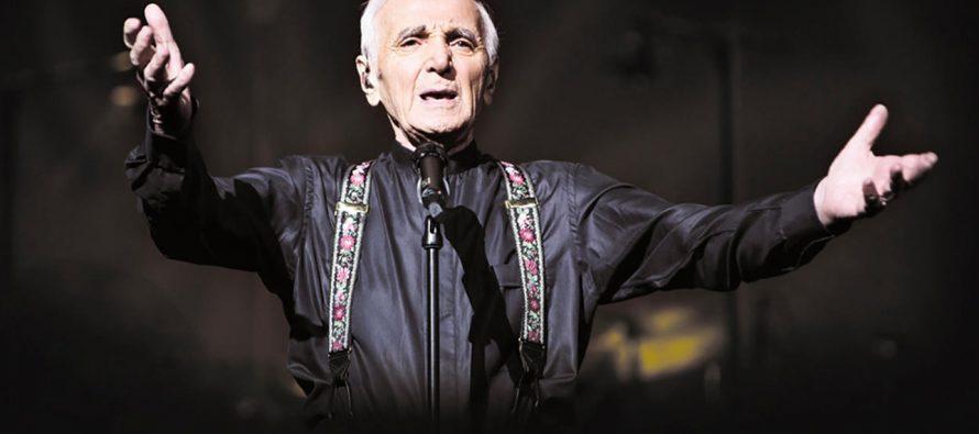 Charles Aznavour vient chanter à Boston !
