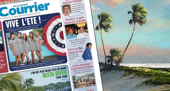 Le Courrier de Floride de Juillet 2016 est sorti !
