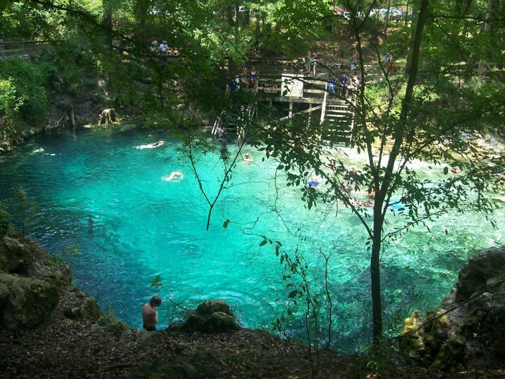 Source de Blue Spring en Floride