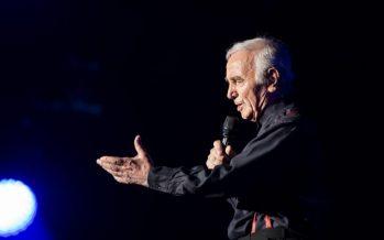 Charles Aznavour donnera un concert à Los Angeles cet automne
