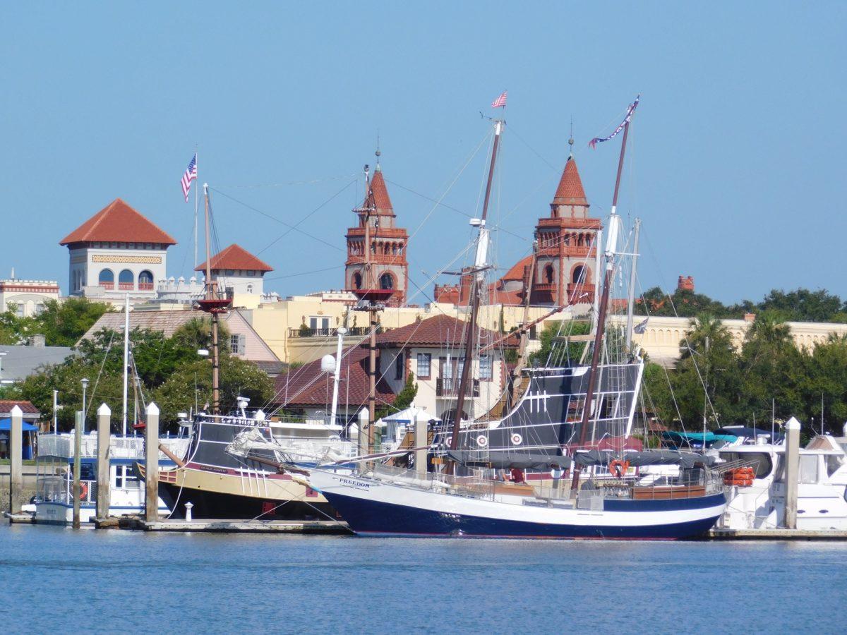 Photos du centre de St Augustine / Floride