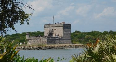 Fort Matanzas : ses paysages et plages magnifiques (près de St Augustine en Floride)