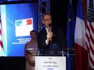 Un 14 juillet à Miami endeuillé par les attentats de Nice. Le maire de Miami exprime sa solidarité avec les Niçois