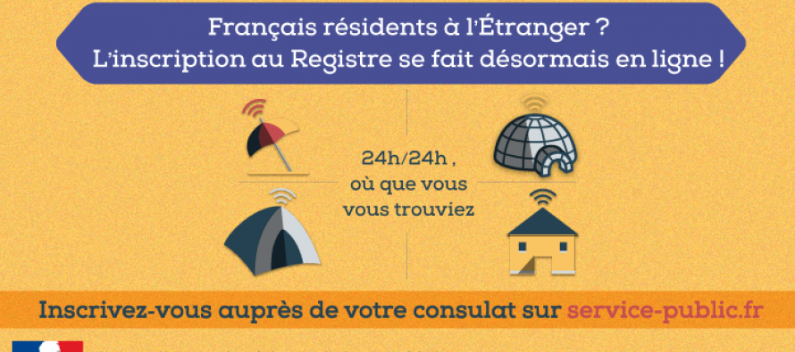 Les Français peuvent s'inscrire dans les consulats par internet !