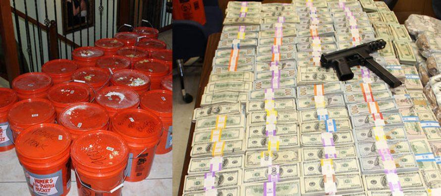 Miami : 24 millions de dollars saisis chez un trafiquant de marijuana en début d'été