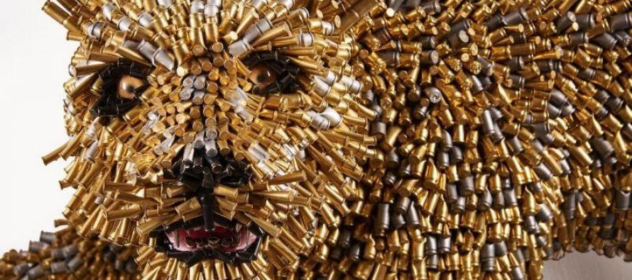 Miami : Federico Uribe sculpte avec… des douilles !