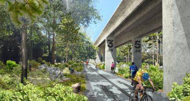 Un parc de 16 km de long en projet sous le Metrorail de Miami