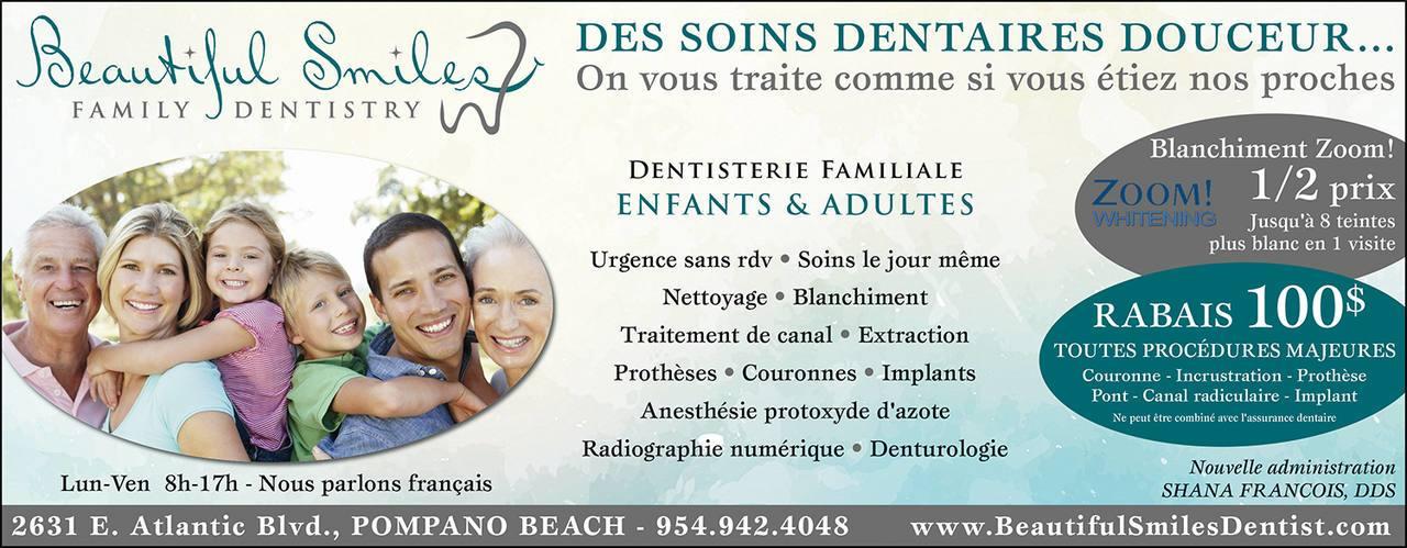 Beautiful Smiles Family Dentistry Pompano Beach Fl