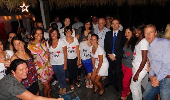 Les photos de la soirée Wine & Cheese de FIPA à Miami