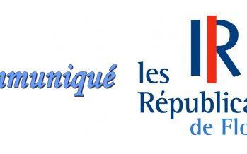 Primaire en France : Communiqué de Jacques Brion (Les Républicains Floride)