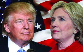 Elections américaines : Hillary Clinton et Donald Trump au coude à coude