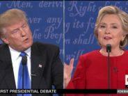 Hillary Clinton cogne fort contre Donald Trump lors du premier débat, mais le candidat Républicain résiste bien