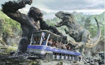 Nouvelle attraction à Universal Orlando : King Kong Skull Island
