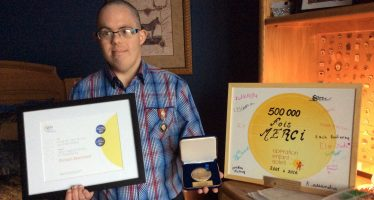 Richard Marchand, un Snowbird à la grande générosité, reçoit la médaille du Gouverneur du Canada