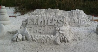 Championnats de Sculptures sur Sable de Fort Myers Beach