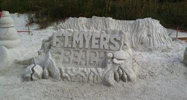 Championnats de Sculptures sur Sable de Fort Myers Beach