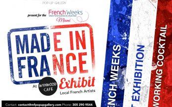 Evénement : Expo Artistes «Made in France» à Miami le 2 novembre