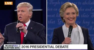 Vilaine foire d'empoigne entre Trump et Clinton durant le 2ème débat présidentiel