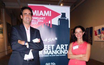 L'art contre l'esclavage des enfants : c'est ce que propose «SAM», une association de Français de Miami