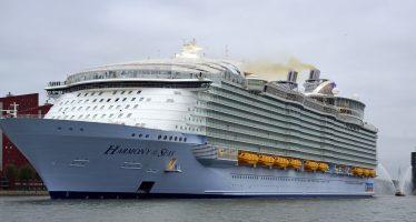 Harmony of the Seas est arrivé à Fort Lauderdale en Floride (vidéo)