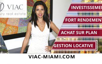 Investissement immobilier à Miami : Viac Realty donnera des conférences à Paris, Montpellier et Cannes