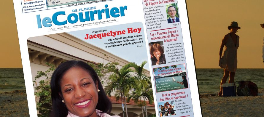 Le Courrier de Floride de Janvier 2017 est sorti !