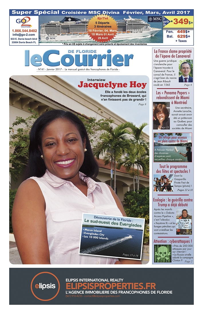 Le Courrier de Floride de Janvier 2017
