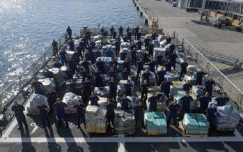 Saisie record de cocaïne par les marines US et Canadienne