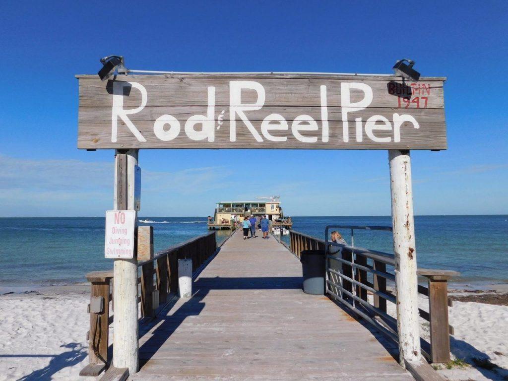 Rod Reel Pier sur Anna-Maria Island en Floride.