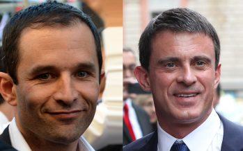Primaires / France : Benoît Hamon en tête devant Manuel Valls