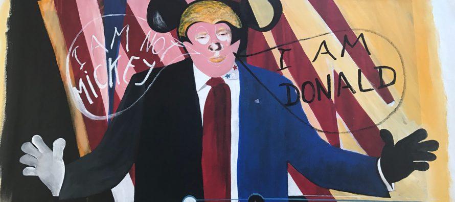 Donald Trump intègre la famille des «personnalités-mickey», devenues des icônes contemporaines