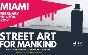 Participez à l'expo Street Art For Mankind à Miami