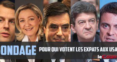 Sondage : Expatriés aux USA, vous voterez pour quel président en France ?