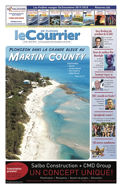 Le journal : Mars 2017 (cliquez sur la couverture)