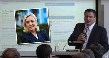 Denis Franceskin (FN aux USA) : «Nous devons penser à notre famille en France, et voter Marine Le Pen»