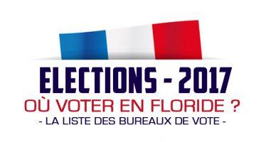 Présidentielles françaises : la liste des bureaux de vote en Floride