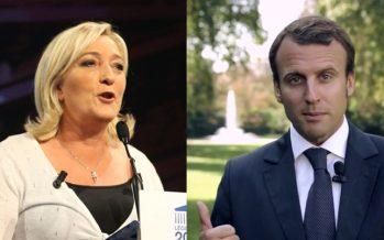 France : Le Pen et Macron en tête des sondages pour la Présidentielle