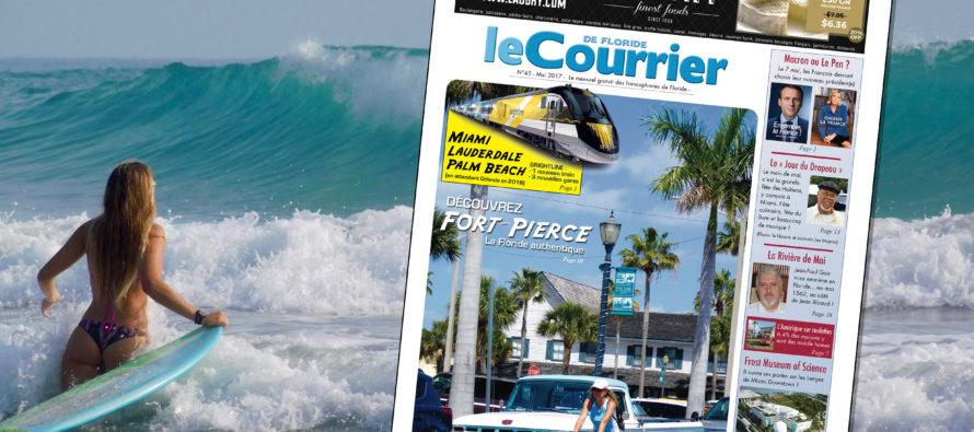 Le Courrier de Floride de Mai 2017 est sorti !