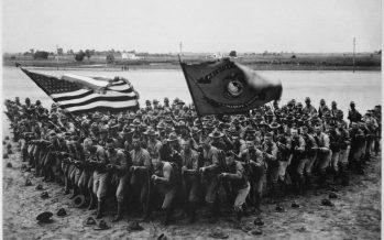 Cent ans après l'entrée des USA et du Canada dans la Première Guerre Mondiale