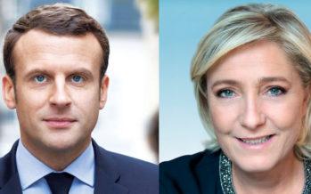 Marine Le Pen et Emmanuel Macron au second tour de la Présidentielle